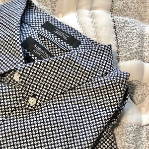 Patterned Button Down